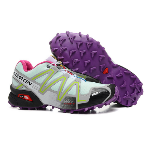 Salomon Speedcross 3 GTX blancas y amarillas