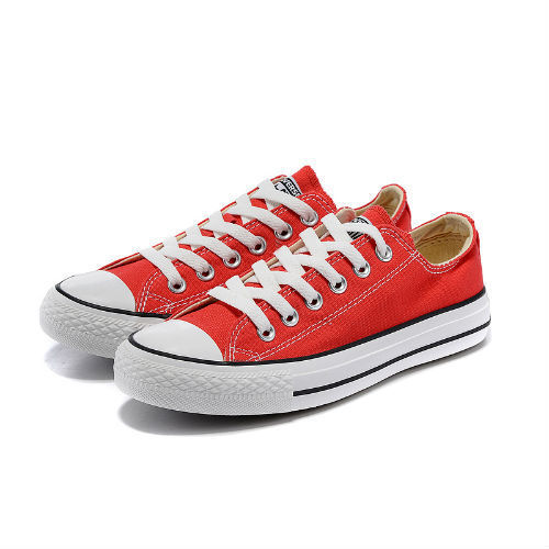 Converse All Star rojo claro
