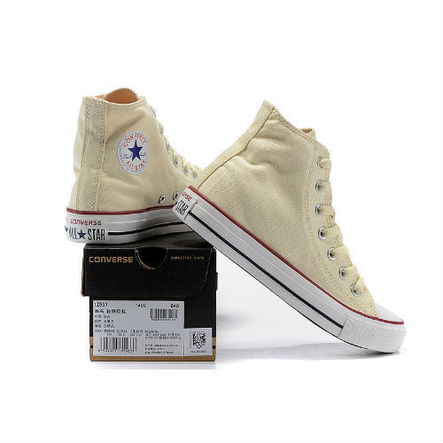 Converse All Star beige altas