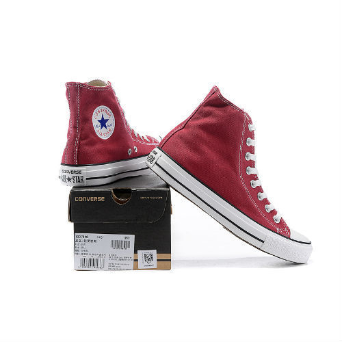 Converse All Star rojas altas