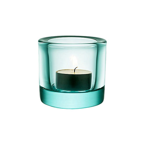 Portavelas IITTALA KIVI Votive 60mm Water Green